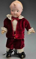 Heubach Gebr. Dolls Bisque socket head doll Googly, head...