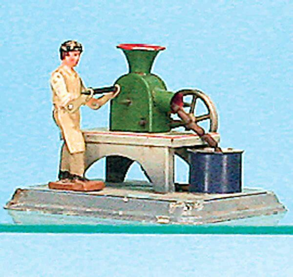 Doll Steam Toys-Drive Models Boucher  No. 910, Fleischmann produced the Boucher after the