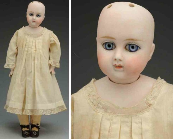 Alt, Beck & Gottschalck Dolls Bisque socket head child doll on  shoulder plate incised ?91