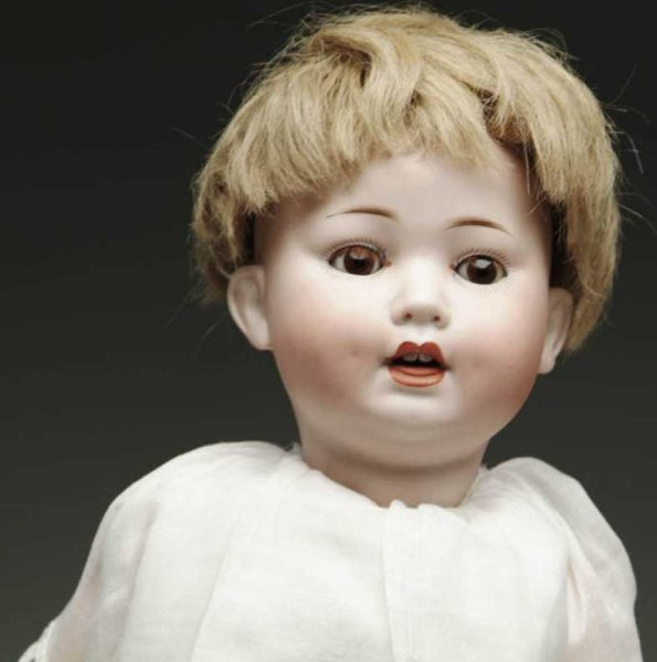Porzellanfabrik Mengersgereuth Dolls German bisque head character baby, with head incised PM 914
