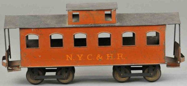 Carlisle & Finch Railway-Freight Wagons Caboose No. 92, eight wheels,very rare all original piece pa