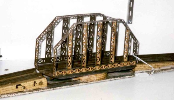 Ives Railway-Bridges Swing bridge with round or square base on which it swivels.