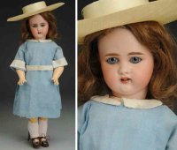 Simon & Halbig Dolls Bisque socket head child doll, head...