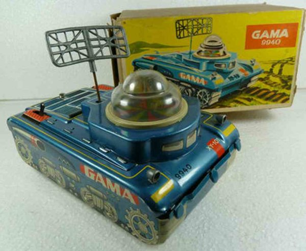 GAMA Military-Vehicles Tank with box