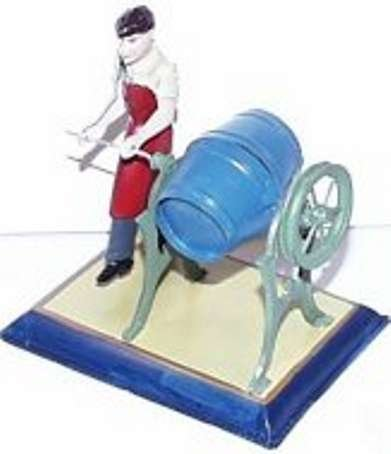 Bing Steam Toys-Drive Models Man with butter churn #9956/246