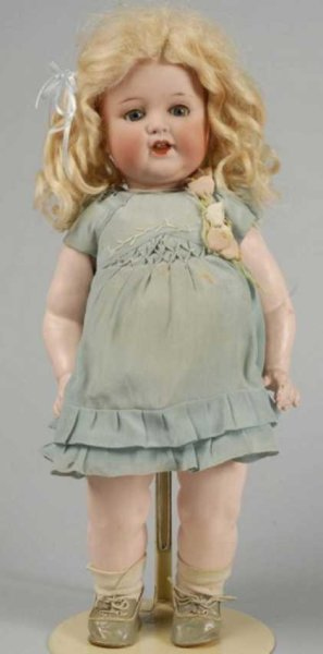Marseille Armand Dolls Bisque socket head doll, charckter toddler, incised A.M. 996