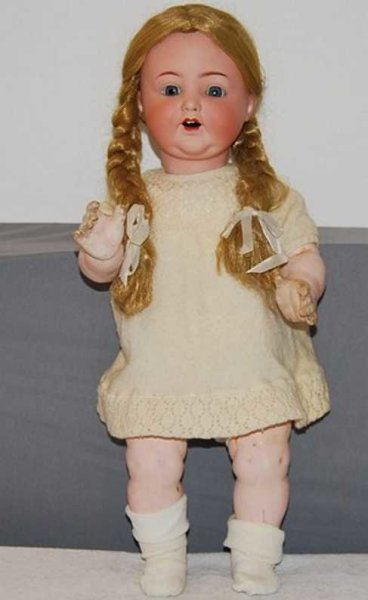 Marseille Armand Dolls Porcelain head doll Marked Armand Marseille 996 A13M Germany
