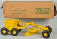 Doepke Tin-Tugs/Rollers Adams motor grader toy made of...