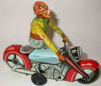 Goeso Tin-Motorcycles Motorcycle acrobatic with...