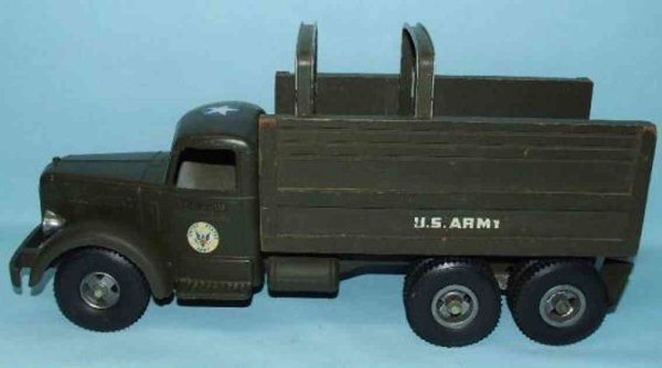 Smith-Miller Tin-Trucks L Mack U.S. Army Transport Truck.