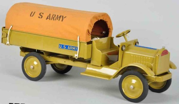 Keystone Tin-Trucks Packard US army truck, made of pressed steel, replaced canva