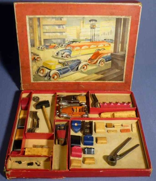 Schowanek Wood-Kits Car wooden kit