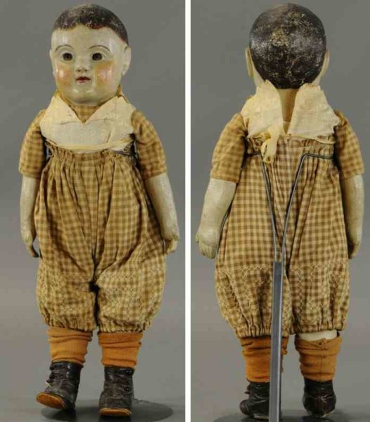 Sheppard J.B. & Company Dolls Philadelphia baby, cloth molded and hand painted head and bo