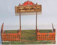 Bing Railway-Stations Station entrance, hand painted in...