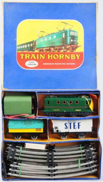 Hornby Railway-Trains Tin freight train set, includes no. BB-8051 electric style e