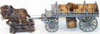 Maerklin Tin-Carriages Beer carriage hand-painted with...