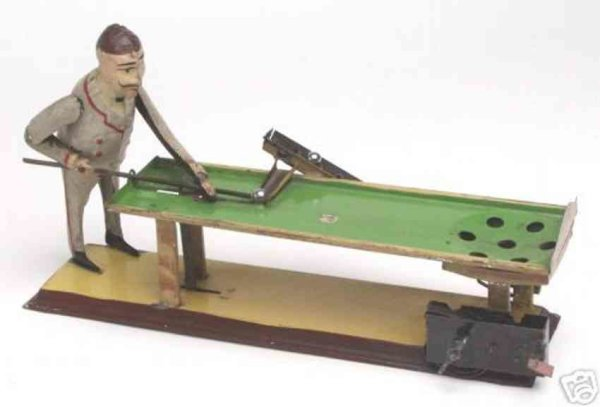 Guenthermann Tin-Figures King of the billiards/pool toy genre, even though hes actua