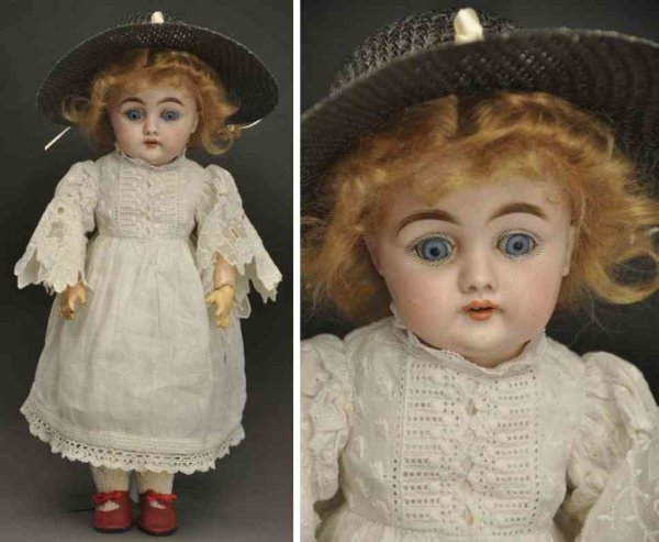 Kestner J. D. Dolls Bisque socket head character doll, head incised ?C made in G