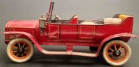 Bing Tin-Oldtimer Elegant convertible with clockwork, the...