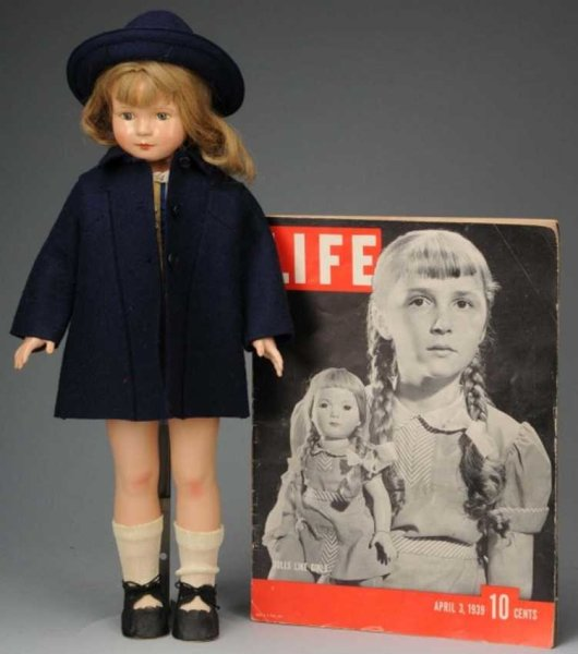 Effanbee Dolls American child doll, totally of composition designed by Dewe