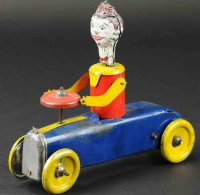 Marx Tin-Other-Vehicles College boy car, lithographed...