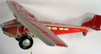 Rossignol Tine Ariplanes Airplane with strong motor runs...