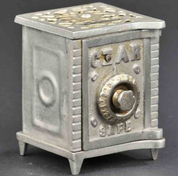 Arcade Cast-Iron-Mechanical Banks Czar still bank made of cast iron and tin, embossed CZAR Sa