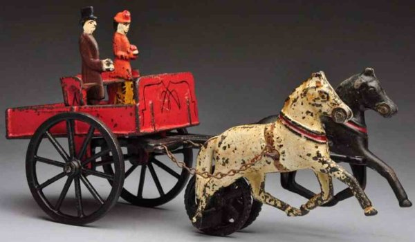 Carpenter Cast-Iron-Carriages Harris Toy Co