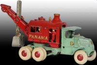 Hubley Cast-Iron trucks Large Panama Digger Toy Truck...