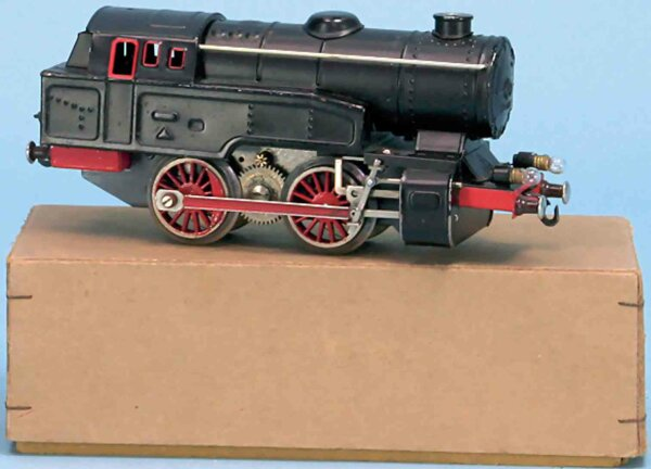Fleischmann Railway-Locomotives Steam tender locomotive No. E 320 of sheet steel, blackly ha