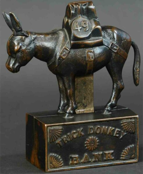Unknown Tin-Mechanical Banks Royal Trick Elephant tin mechanical bank, probably made in G