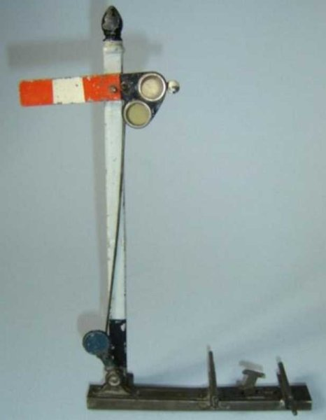Bing Railway-Signals Hand-coated English main signal #13674/1, with automatic sig
