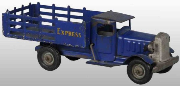 Metalcraft Corp. St Louis Tin-Trucks Express truck with decals on both sides of rear, lettering
