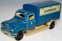 Tippco Tin-Trucks Hanomag Express with clockwork or...