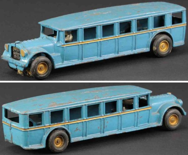 Arcade Cast-Iron buses Fageol safety coach made of cast iron, impressive scale toy,