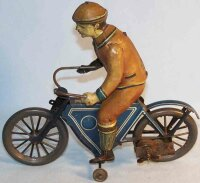 Fischer Georg Tin-Motorcycles Motorcycle of tin with...