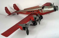 Joustra Tine Ariplanes F-ANNY Airplane lithographed with...