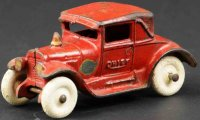 Arcade Cast-Iron fire trucks Fire chief auto made of cast...