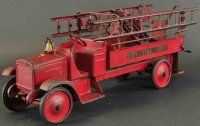 Steelcraft Tin-Fire-Truck Fire truck pressed steel, all...