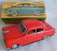 Nomura Toys Tin-Cars Ford Sedan Electro car with original...