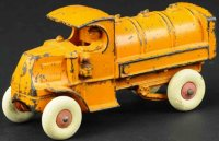 Hubley Cast-Iron trucks Gasoline truck made of cast...