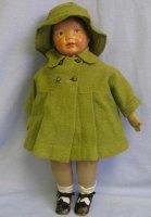 Kamkins Dolls Doll hand-painted  all-original with mohair...