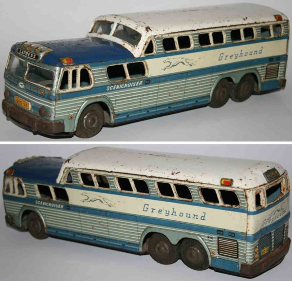 Tatsuya Shoten KTS Tin-Buses Greyhound scenicruiser with friction drive