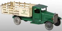 Metalcraft Corp. St Louis Tin-Trucks Pressed steel truck...