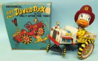 Linemar Tin-Other-Vehicles Mechanical fire chief Donald...