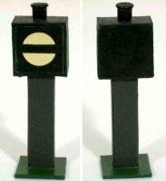 Heidt Klaus Railway-Signals Signal lantern made of wood...