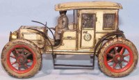 Guenthermann Tin-Oldtimer Limousine with clockwork, tin,...