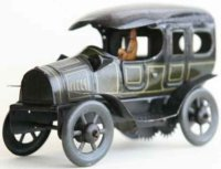 Bing Tin-Oldtimer Limousine open driver seat lithographed...