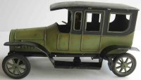 Fischer Georg Tin-Oldtimer Limousine with wind-up,...