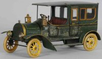 Bing Tin-Oldtimer Limousine with clockwork mechanism,...